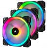 Ventilateur boîtier Corsair LL Series LL120 RGB Triple Pack
