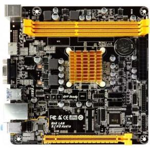 Carte Mère Biostar A68N-2100E avec Processeur AMD E1-2100 (1,0 Ghz) Mini ITX