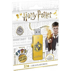 Clé USB Emtec M730 Harry Potter Poufsouffle 16Go USB 2.0 (Jaune)