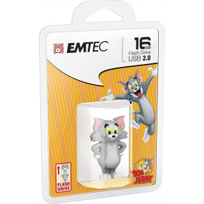 Clé USB Emtec HB102 Tom 16Go USB 2.0 (Gris)