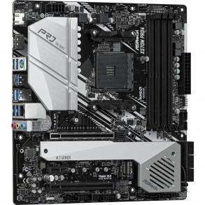 Carte Mère ASRock X570M Pro4 (AM4) Micro ATX