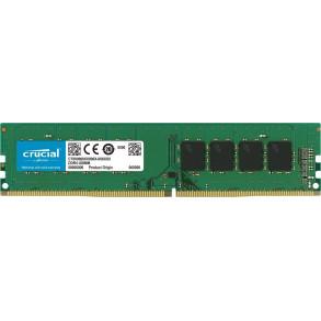 Barrette mémoire 4Go DIMM DDR4 Crucial PC4-21300 (2666 Mhz) (Vert)
