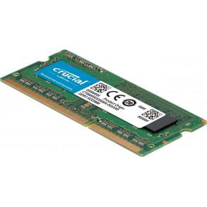 Barrette mémoire RAM SODIMM DDR3L 4096Mo Crucial PC12800 (1600 Mhz)