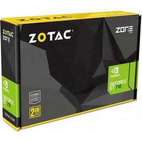 Carte Graphique Nvidia Zotac GeForce GT710 2Go Low Profile Passive