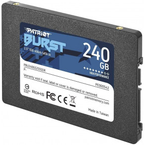 Disque Dur SSD Patriot Burst 240 Go S-ATA