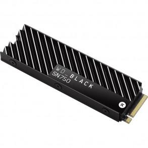 Disque Dur SSD Western Digital Black SN750 500Go avec dissipateur thermique - M.2 NVME Type 2280