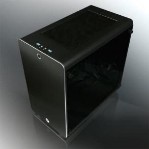 Boitier Mini ITX Raijintek Thetis avec panneaux vitrés (Noir)
