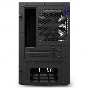 Boitier Mini Tour Mini ITX NZXT H210 avec panneau vitré (Noir)