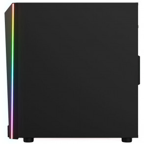 Boitier Mini Tour Micro ATX Gamdias Talos M1A RGB avec panneaux vitrés (Noir)