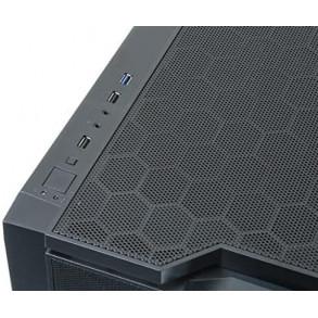 Boitier Cube Micro ATX Chieftec Gamer CI-01B avec fenêtre (Noir)