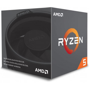 Processeur AMD Ryzen 5 2600 Socket AM4 (3,4 Ghz)