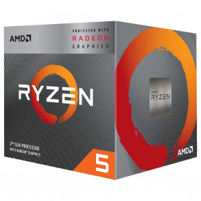 Processeur AMD Ryzen 5 3400G Socket AM4 + GPU (3,7 Ghz)
