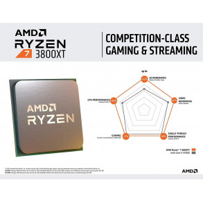 Processeur AMD Ryzen 7 3800XT Socket AM4 (4,0 Ghz)