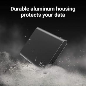 Disque dur externe PNY Pro Elite 250Go SSD USB 3.1 (Noir)