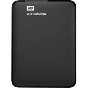 "Disque Dur Externe Western Digital Elements Portable 2To (2000Go) USB 3.0/ USB 2.0 - 2,5"""