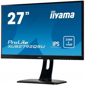 """Ecran LED 27"""" Iiyama XUB2792QSU WQHD"""