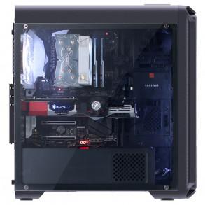 Boitier Moyen Tour ATX Zalman i3 Edge avec panneau vitré (Noir)