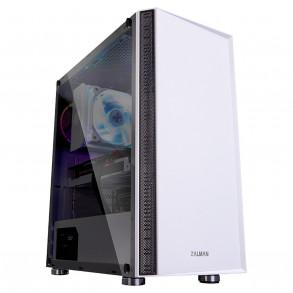 Boitier Moyen Tour ATX Zalman R2 RGB avec panneau vitré (Blanc)