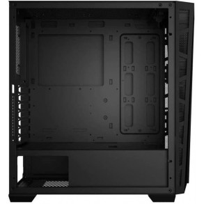 Boitier Moyen Tour ATX Xigmatek Cyclops Black RGB avec panneaux vitrés (Noir)