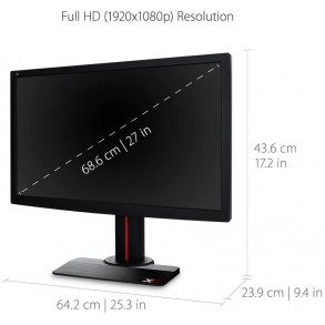 "Ecran LED 27"" ViewSonic XG2702 Full HD 144Hz (Noir)"