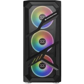 Boitier Moyen Tour ATX Xigmatek Lamiya RGB avec panneaux vitrés (Noir)