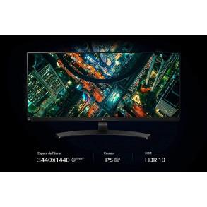 """Ecran LED 34"""" (21:9) LG 34WL750 WQHD (Noir)"""