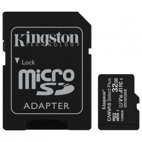 Carte mémoire Micro Secure Digital (micro SD) Kingston Canvas Select Plus 32Go SDHC Class 10