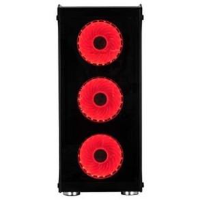 Boitier Moyen Tour ATX Spire X2 Blaze III RGB avec panneaux vitrés (Noir)