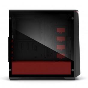 Boitier Moyen Tour ATX Phanteks Eclipse P400 avec panneau vitré (Noir/Rouge)