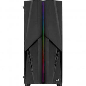 Boitier Moyen Tour ATX AeroCool Mecha RGB avec panneau vitré (Noir)