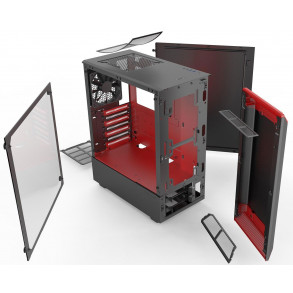 Boitier Moyen Tour ATX Phanteks Eclipse P300 avec Fenêtre (Rouge)