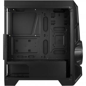 Boitier Moyen Tour ATX AeroCool AeroEngine RGB avec panneaux vitrés (Noir)