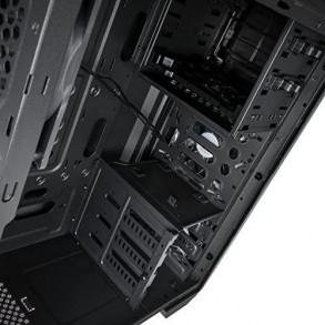 Boitier Moyen Tour ATX Kolink Aviator avec fenêtre (Noir)
