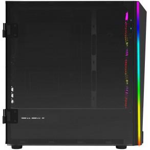 Boitier Moyen Tour ATX Gamdias Talos M1B RGB avec panneaux vitrés (Noir)