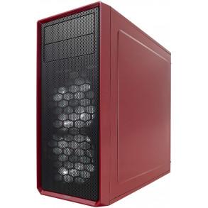 Boitier ATX Fractal Design Focus G avec fenêtre (Rouge)