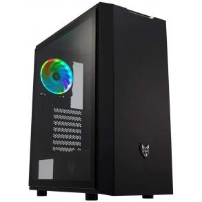 Boitier Moyen Tour ATX Fortron CMT350 RGB avec panneaux vitrés (Noir)