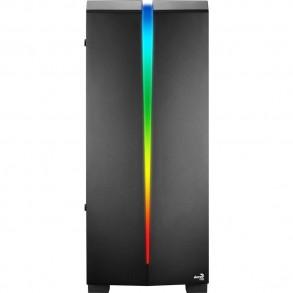 Boitier Moyen Tour ATX AeroCool Scar RGB avec panneau vitré (Noir)