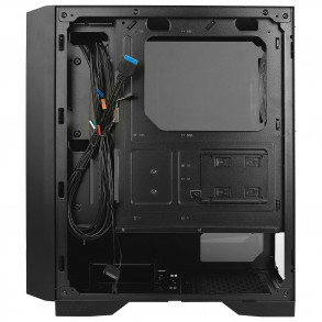 Boitier Moyen Tour ATX Antec NX400 RGB avec panneau vitré (Noir)