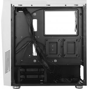 Boitier Moyen Tour ATX Antec NX300 RGB avec panneau vitré (Blanc)