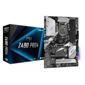 Carte Mère ASRock Z490 Pro 4 (Intel LGA 1200)