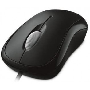 Souris filaire Microsoft Basic Optical Mouse USB (Noir)
