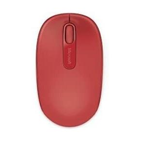 Microsoft 1850 Souris sans Fil Flame Red