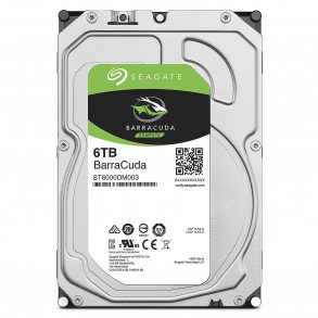 Disque Dur Seagate BarraCuda 6To (6000Go) S-ATA (ST6000DM003)