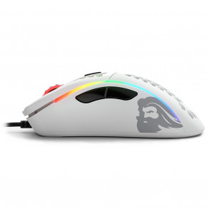 Souris filaire Gamer Glorious PC Gaming Race Model D RGB (Blanc)