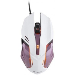 Souris filaire Gamer NGS GMX-100 RGB (Blanc/Rose)