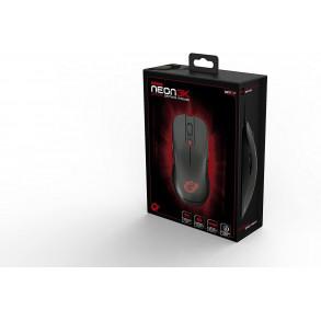 Souris filaire Gamer Ozone Gaming Neon (Noir)