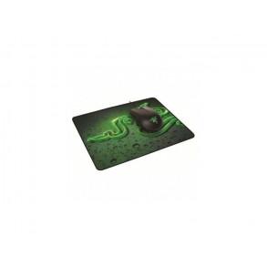 Kit Souris filaire Gamer Abyssus 1800 + Tapis de Souris Goliathus Speed (M) (Noir/Vert)