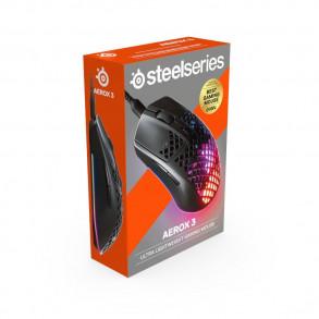 Souris filaire Gamer SteelSeries Aerox 3 RGB (Noir)