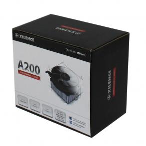 Ventilateur processeur Xilence Performance C A200 (Noir)