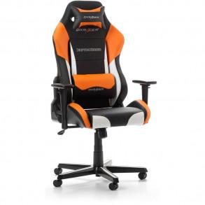 Fauteuil DXRacer Drifting D61 (Noir/Blanc/Orange)